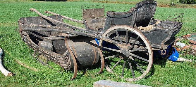 Vagn och släde