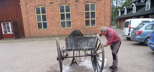 Vagnhistoriska Sällskapets renoveringskurs 8-10 oktober