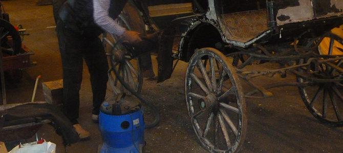Vagnhistoriska Sällskapets renoveringskurs